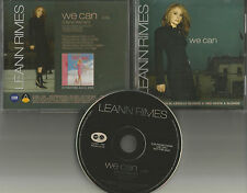 LEANN RIMES We can ULTRA RARE 2003 PROMO Radio DJ CD Single