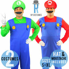 Cartoon Characters Complete Outfit Costumes for Men