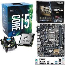 INTEL Core i5 7500 3.4Ghz (3.8Ghz), ASUS H110M-A/M.2 NO RAM