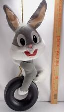 """Bugs Bunny Baby Rope Tire Swing Plush Stuffed Animal Toy Doll Looney Tunes 22"""""""