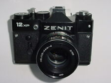 ZENIT 12 XP 35mm Film SLR Manual Camera with HELIOS-44M-4 58mm F/2 Lens