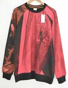 PAUL SMITH red black beach swimming pool photography sweatshirt jumper top XL