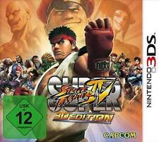 Nintendo 3DS SUPER STREET FIGHTER 4 IV 3D Edition Gebraucht Top Zustand