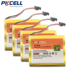 4 Home Phone Rechargeable Battery HHR-P505 SG1701 For Uniden BT905 BT-905 BT-800