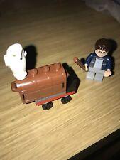 Harry Potter Lego 30110 Kings Cross Station Platform Scene Hedwig The Owl &trunk