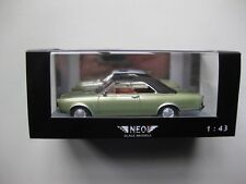 Ford P7 20M Coupe 1971 NEO model Car 1/43 43135 Green metallic