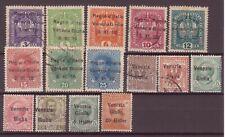 Venezia Giulia 1918/19 piccolo lotto nuovi linguellati e usati