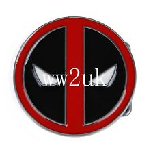 3'' DIAMETER DEADPOOL X-MEN WADE ALLOY BELT BUCKLE COSPLAY MARVEL-36174