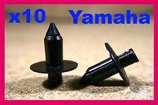 10 YAMAHA Motorcycle motor bike Fairing panels Trim Rivet Clips 7mm