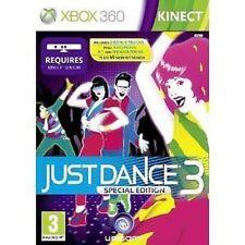Xbox 360 Kinect Game Special Edition Just Dance (III) 3+2 Bonus Tracks NEW