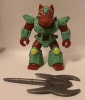 Battle Beasts Danger Dog #21 With Rub (Fire) and Weapon