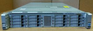 """Cisco UCS C240 M4 2U CTO Server CTO 0P 0M CPU 24x DIMM Slot 16x 2.5"""" Bay UCSC"""
