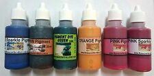 Pigments 6 X 30ml Specialty Melt and Pour Soap Making, Aust',Colour-fast, Color