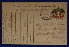 Posta Militare *32a Divisione* 24.11.1916 in Franchigia #XP281C