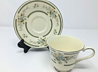 Vtg 1981 Royal Doulton The Romance Collection Adrienne H 5081 Tea Cup and Saucer