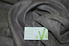 100% Linen Natural Fiber Lt weight 6.5oz L/YD Two tones Yarn Dye Natural/Lilac