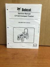 Bobcat CT122 Compact Tractor Service Manual Shop Repair Book Part #  6987028
