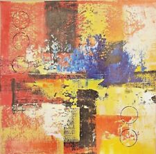 Modern Home Decor Art on Canvas Wall Abstract Hand-Painted Oil Painting Gift