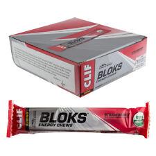 Clifbar Clif Shot Bloks Food Clf Blok Strawbry Bxof18