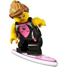 Lego surfer girl minifig - Lego collectible series