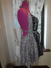 Stunning  All Saints Narnia Backless Dress Size 10 (8-12) Excellent Condition