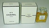 Vintage Perfume Bottle Chanel No 5 Bottle/Boxes Late 1980s 1 OZ Unused - Full
