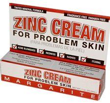 Margarite Cosmetics, Zinc Cream, For Problem Skin, 1 oz (28 g)