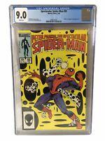 Spectacular Spider-Man 99 - CGC Graded 9.0 - Black Cat, Kingpin, Spot Appearance