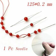 Jewelry Needle Stainless Steel Central Opening Opening Beads Threading Tools
