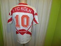 """1.FC Köln Original Puma Heim Trikot 1993/94 """"PEPSI"""" + Nr.10 Gr.S- M"""