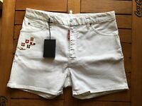 DSQUARED2 Flags Yachting Sailing Bermuda Shorts Gr. 46