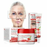 Goji Berry Facial Cream Eye Cream Face Collagen Skin Care Anti Aging Wrinkle US