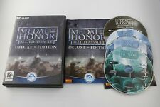 PC MEDAL OF HONOR ALLIED ASSAULT DELUXE EDITION COMPLETO PAL ESPAÑA