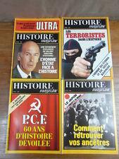 Genre HISTORIA :16 revues HISTOIRE MAGAZINE 1980-1981 (1 à 16) TETE COLLECTION