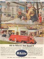 June 1945 Truck  #104   White Trucks      Magazine Ad