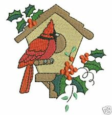 Exotic Winter Birds Machine Embroidery Designs 4x4 CD
