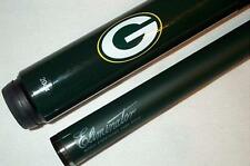 NFL Green Bay PACKERS Billiard Pool Cue Stick w/ Case FREE SHIPPING