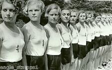 German WW II Photo   * * League Of German Girls  * *  .....    # 056