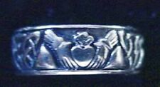 LOOK Sterling Silver Buffy The Vampire Slayer CLADDAGH RING