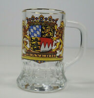 Vintage Collectible Shot Glass Conrail with Gold Rim Railroad 1,2