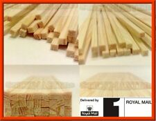 500 Traditional Wooden Square Candy Floss / Cotton Candy Sticks
