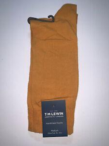 T.M. Lewin Handlinked Socks Size M