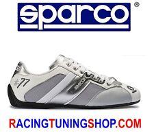 SCARPE SPARCO TIME 77 TG 41 BIANCO GRIGIO SHOES SNEAKERS SPARCO SCHUHE TEAMWEAR