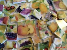 Broken China Mosaic Tiles ~Fruit Chintz china mosaic tiles
