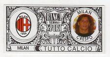 figurina - TUTTO CALCIO EURO MONETE  - MILAN CRESPO