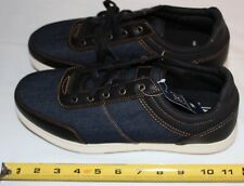George Men's Casual Tennis Shoe Size 10 Navy & Denim