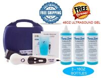 US Pro 2000 Pro Ultrasound Portable Therapy Unit Comes with 3 bottles 16oz gel