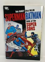 DC SUPERMAN BATMAN SAGA Super Sons Graphic Novel  TPB