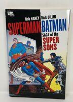 DC SUPERMAN BATMAN SAGA Super Sons Graphic Novel  TPB