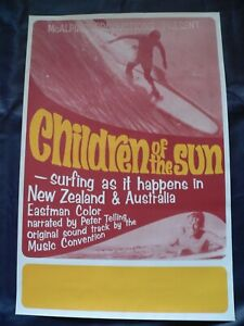 Children of the Sun - Surf Movie Poster Print (1968) 23'' x 15.5''